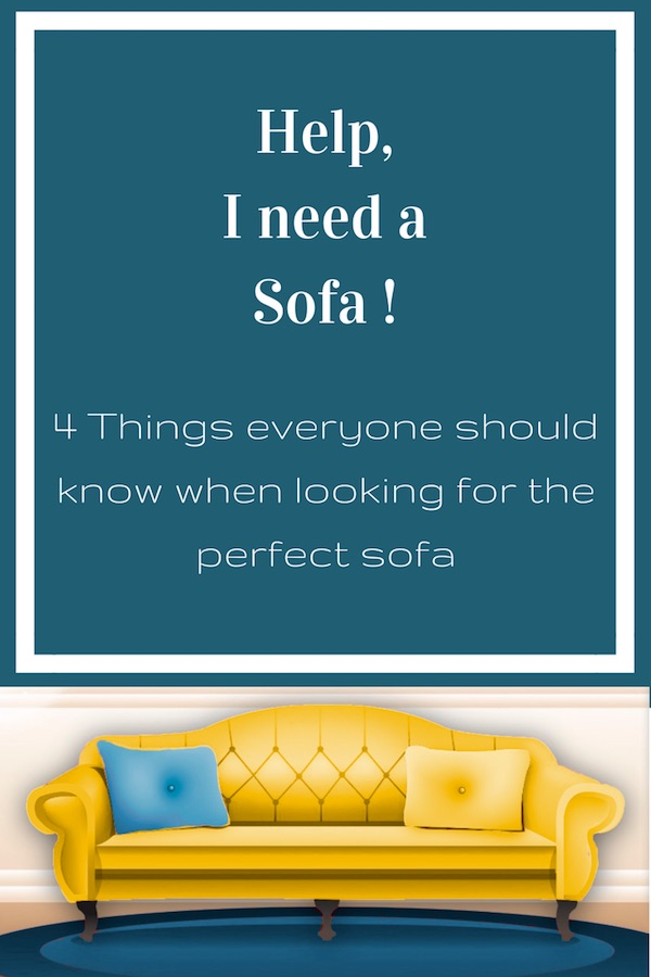 what everyone should know when looking for the perfect sofa