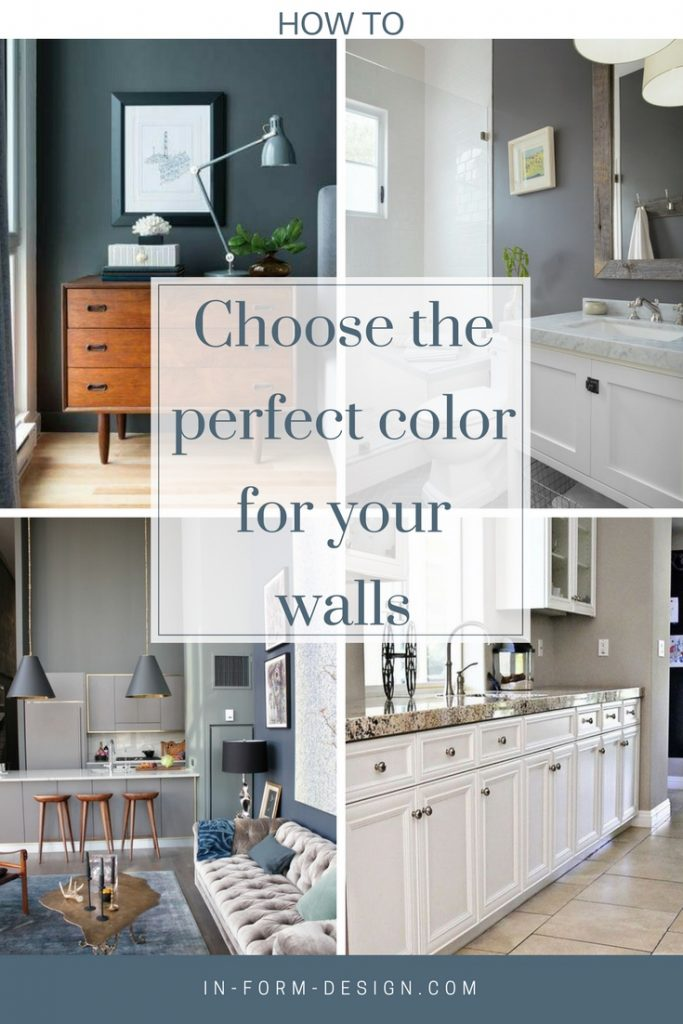 how to choose the perfect color for your walls